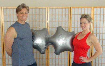 The patented AbStar AIR Core Fitness Trainer is safer and more effective than an exercise ball. First product from Bionic Fitness, one of our startup companies.